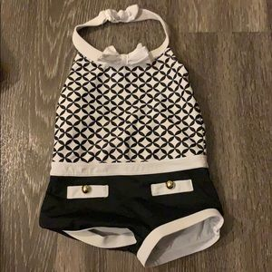 One piece Janie and Jack swimming Suit